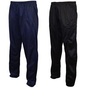 Mens-Plain-Silky-Joggers-Jogging-Sweat-Pants-Tracksuit-Bottoms-Jog-Trousers