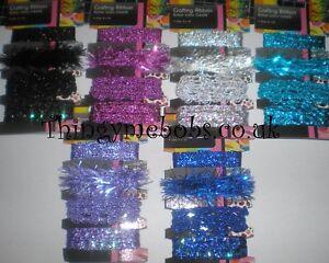 CoopéRative 4 X 1 M Paillettes/sparkle Ruban/galon-artisanat/cadeau Emballage-royal/lilas/rose-e Ribbon/braid - Crafts/gift Wrapping - Royal/lilac/pink Fr-fr Afficher Le Titre D'origine Remises Vente