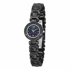 Stuhrling Original Women's 918.02 Leisure Le Petit II Black Ceramic Watch