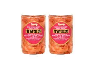 Sweet-Pickled-Ginger-by-Shirakiku-for-Sushi-Pack-of-2-Jars-12oz-340g-each