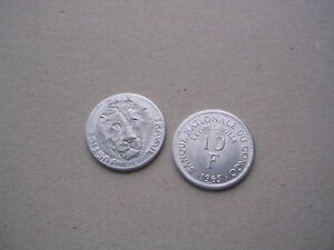 Congo-Kongo-10-Franc-Francs-1965