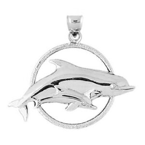Dolphin Sterling Silver Charm