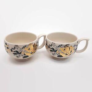 Lauren-Wan-for-Anthropologie-Floral-Vine-Teacup-Mugs-Set-of-2