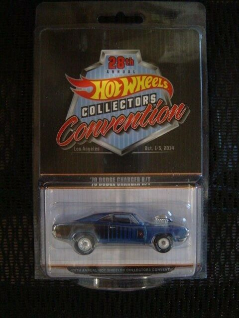 2014 Hot Wheels LA CA 28th Convention Dinner Car 70 Dodge Charger R T