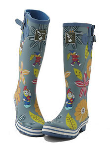 Wellies Evercreatures Bottes Caoutchouc d'hiver pour Designer Wellingtons femmes Rain 8U4ratqx4w