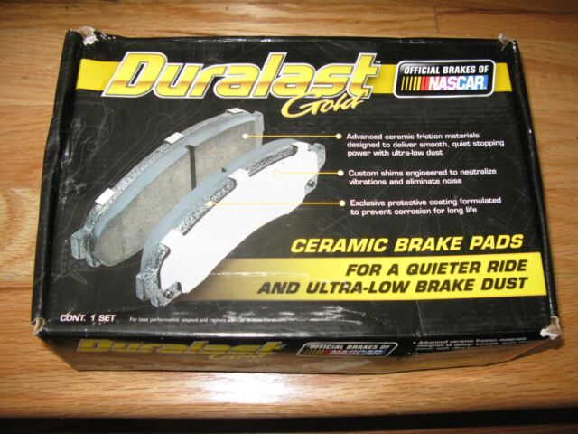 Duralast Gold by AutoZone DG 1056 Disc Brake Pad Front