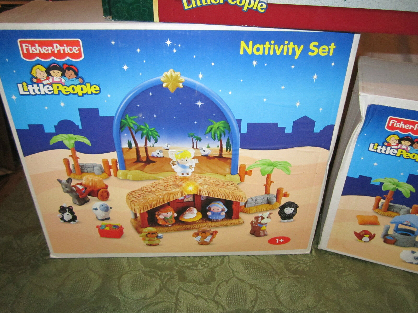 Fisher Price Little People Xmas Xmas Xmas Drummer Boy Nativity Manger Inn Wise Shepherds 93d2fb