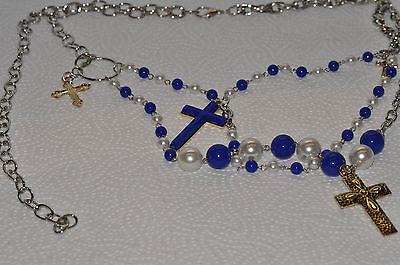 Gürtel Mit Kreuz Und Perlen H 15 - 12