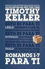Romanos 1-7 para Ti by Timothy Keller (2016, Hardcover)