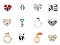 Origami Owl Authentic Love Charms Rare & Retired