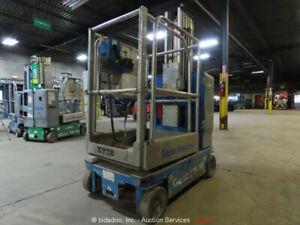 2013 Genie GR-20 Electric 20' Vertical Mast Lift Personnel Man bidadoo -Repair