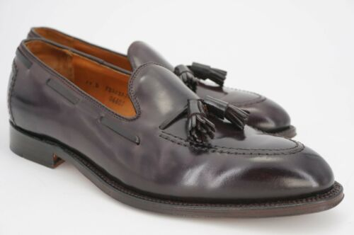 $748 | ALDEN 10 D SHELL CORDOVAN BURGUNDY COLOR 8