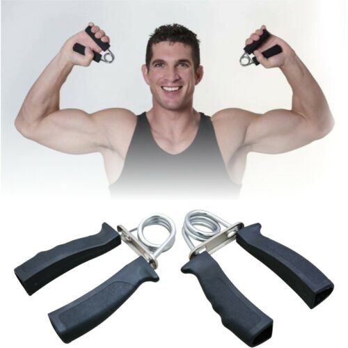 Hand Gripper Fortifiant Muscle Power train Exerciser Poignet Fitness Gym Noir