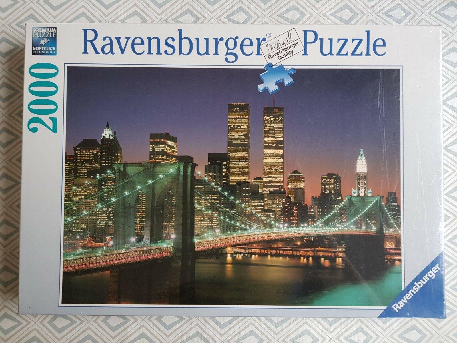 Ravensburger Puzzle 2000 Teile - New York City - 16609 - OVP