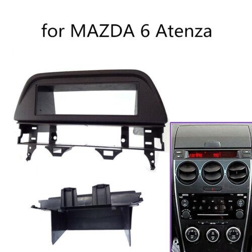 1 Din Radio Stereo Fascia Dash Panel Frame Trim kit For Mazda 6 Atenza 2002-2007