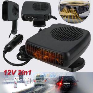150W 12V Car Truck Auto Heater Hot Cool Fan Windscreen Window Demister Defroster