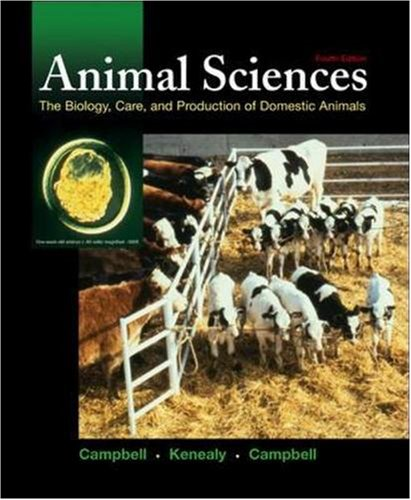 Animal Sciences: The Biology, Care, and Production of Domestic Animals, Very Goo