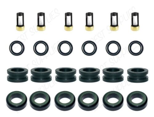 Fuel Injector Service Kit Seals O-Rings Grommets Filters for Suzuki Grand Vitara