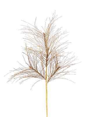 "28924 Melrose 28"" Gold Mica Glitter Pine Spray Christmas Halloween Floral Pick"