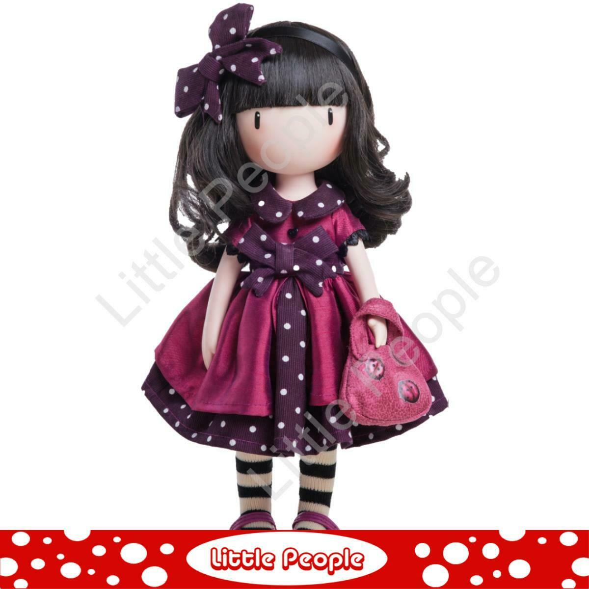Gorjuss of SantGold doll – Ladybird S4902