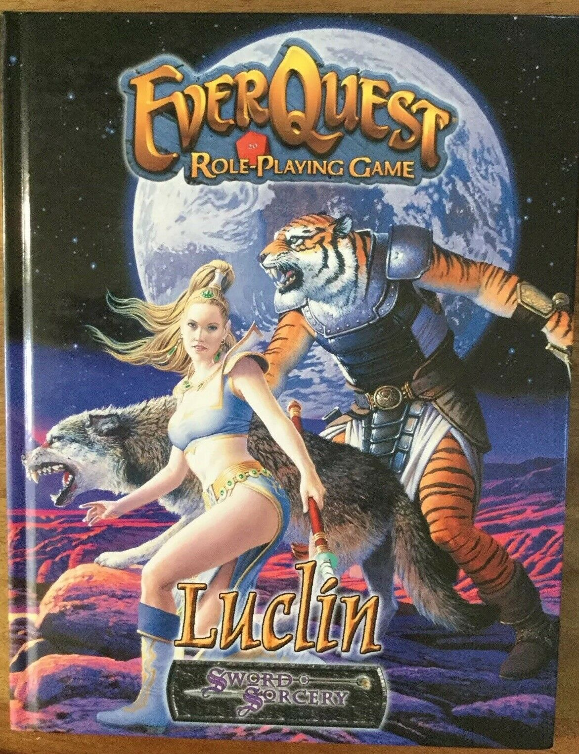 EverQuest Role-Playing Game Luclin Sword & Sorcery