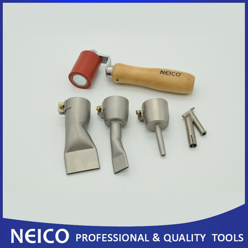 45mm Silicone Seam Roller With Hot Air Welding Nozzles For Plastic Welder (5pcs)