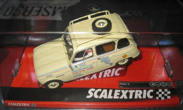 NOVELTY - A10221S300 - RENAULT 4L TIERRA FIRE OF SCALEXTRIC 1 32 new