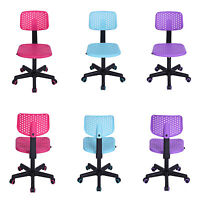 Christmas Sale Children Task Desk Chair Best Xmas Gift Blue Pink & Purple