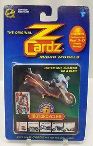 2001-Original-Z-Cardz-3-D-Micro-Models-Series-1-Motorcycles-5-cards