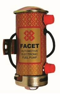 Facet Silver Top Electronic Fuel Pump Kit Road 12V Upto 150BHP