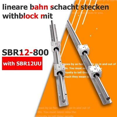 8X Linearlager Linearwagen Linearschlitten SBR20UU für 20mm Welle Linear