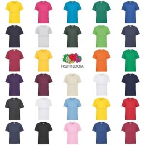 Fruit-of-the-loom-Garcons-Filles-Valueweight-T-Shirt
