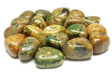TUMBLED - (2) MED/LG RHYOLITE Crystals w/Description Card - Healing Stone Reiki