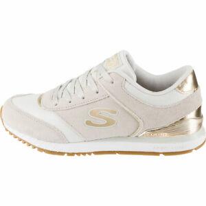 skechers womens trainers white