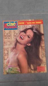 Ciné Monde - N°1618 - 1965 - Brigitte Bardot 2 Photos - Vadim: Tutte Mes Donna