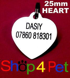 Chien Chat TAG 25 mm aluminium Pet ID Tags Engraved Gratuit Avec Noirci Gravure-afficher le titre d`origine JXs9YO52-07224733-424054971