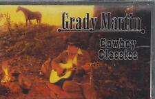 GRADY MARTIN COWBOY CLASSICS Hall Of Fame Riders In The Sky Guitar NEW CASSETTE