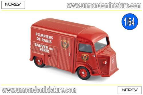 NO 310802 Citroën HY 1969 Pompiers  NOREV Echelle 1//64