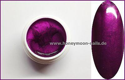 5ml UV Farbgel metallic POISON PURPLE Traumhaft schöne Farbe !!!