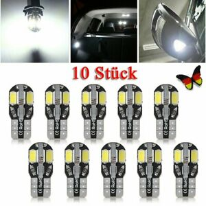 10-Stk-T10-SMD-12V-LED-Licht-Auto-CANBUS-Lampe-Standlicht-Innenraum-Beleuchtung
