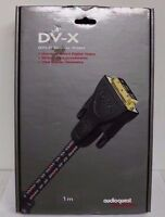 Audioquest Dv-x 1m (3.3 Ft) Dvi Video Cable
