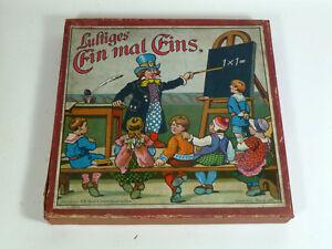 LUSTIGES-EIN-MAL-EINS-Verlag-J-W-Spear-amp-Soehne-ca-1910-Nr-139-1