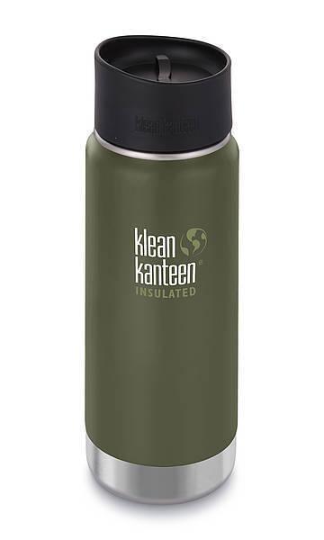Klean Kanteen Wide VI 473 ml Cafe Cap 2.0 Fresh Pine Kaffeebecher Trinkbecher