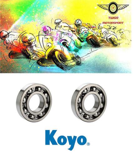 Genuine Koyo Kawasaki KX 125 Mains Crank Bearings 1988-2005