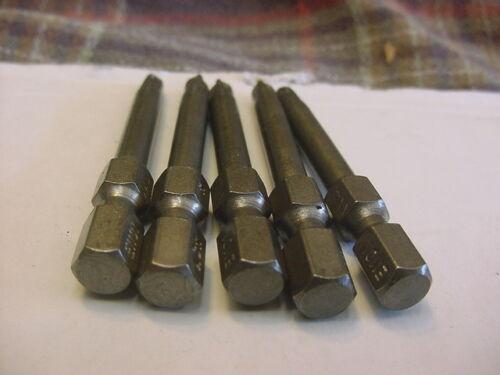 """3//16/"""",1 15//16/""""  E1101XXR USA Made 5x Zephyr ACR Phillips Power Insert Bit  1"""