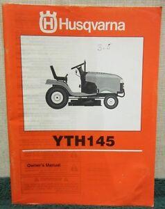 1998 husqvarna riding mower yth 145 owner s manual ebay husqvarna yth20k46 parts manual Husqvarna YTH20K46 Drive Belt Route