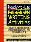 Ready to Use Paragraph Writing Activity: v. 3 by Jack Umstatter (Paperback, 1999)