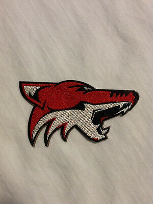 Phoenix Coyotes Logo NHL Hockey Hat Shirt Embroidered Iron On Jersey Patch