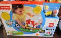 Fisher-price Little People Apptivity Barnyard Interactive Ipad Play Set Toy