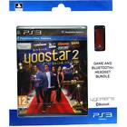 Yoostar 2 In The Movies game with FREE Bluetooth Headset Playstation 3 PS3 NEW